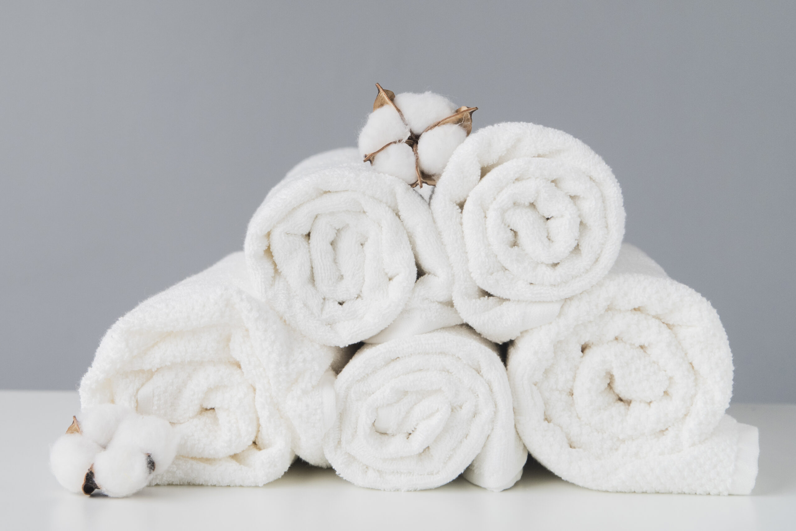 serviette blanche location